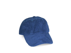 Thick Corduroy Dad Hat - Blue