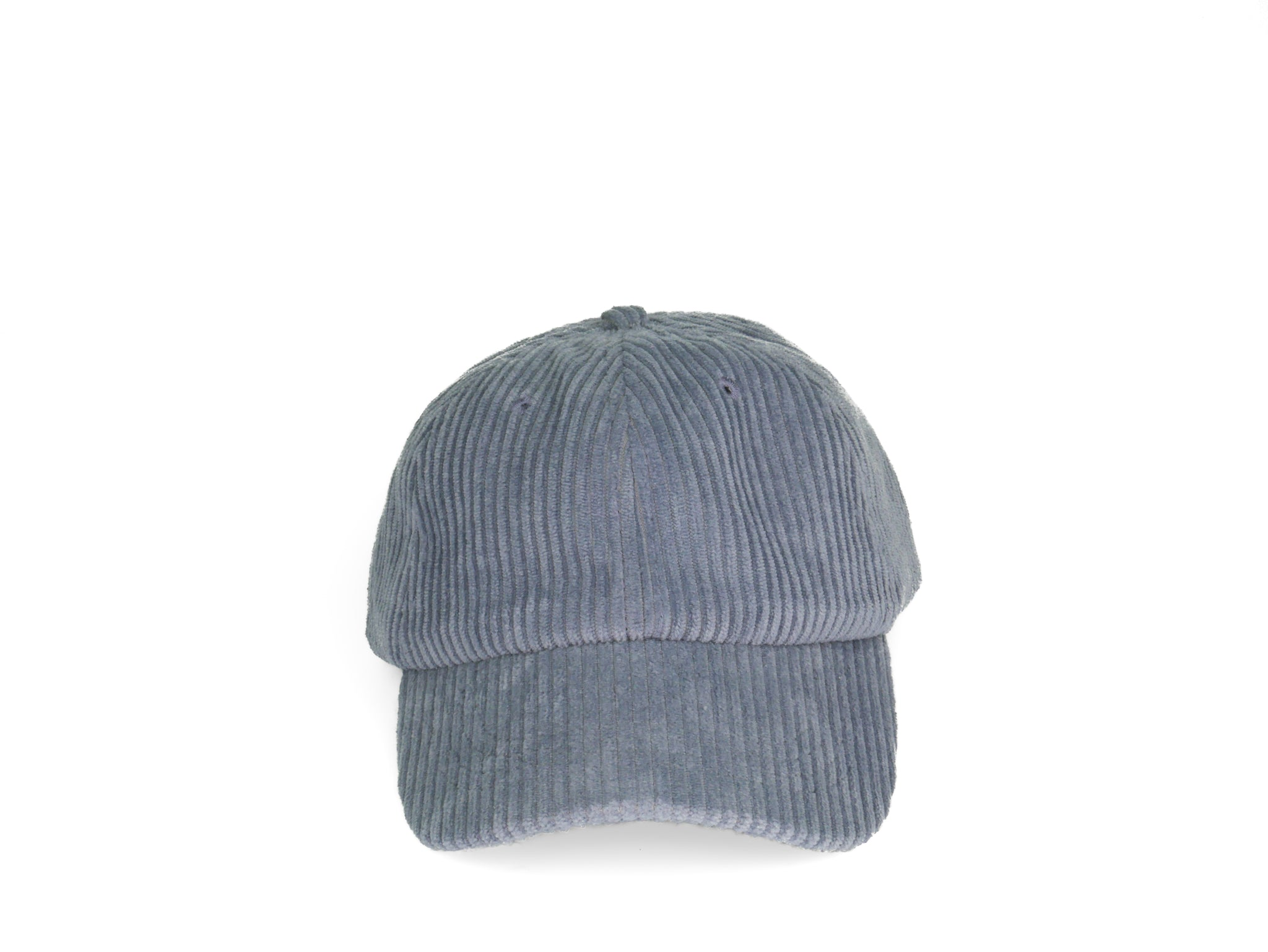 Thick Corduroy Dad Hat - Slate