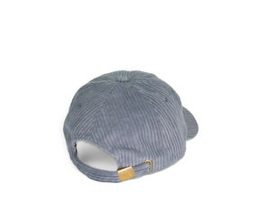 Thick Corduroy Dad Hat - Grey