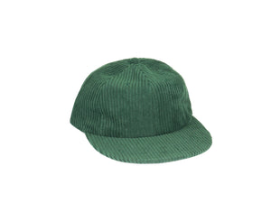 Thick Corduroy UFB (Unstructured Flat Brim) - Green