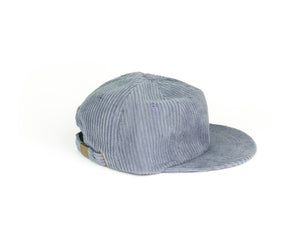 Thick Corduroy UFB (Unstructured Flat Brim) - Blue