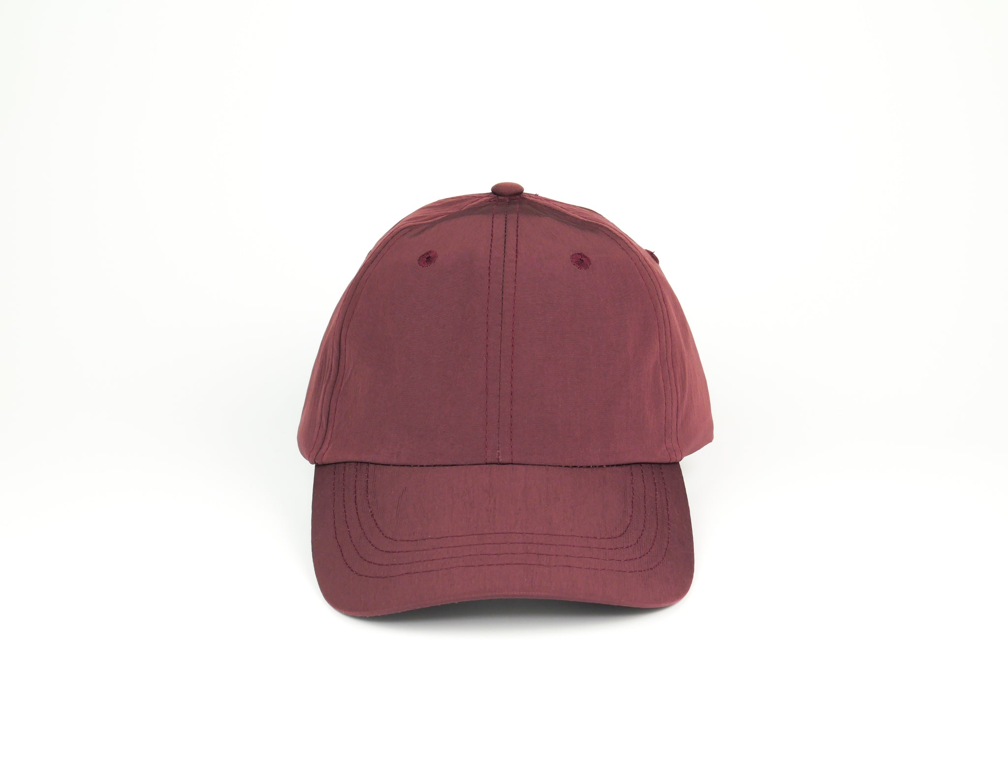 Water Resistant Dad Hat - Burgundy