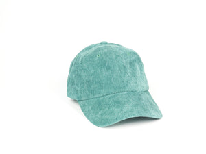 Thin Corduroy Dad Hat - Teal