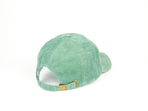 Thin Corduroy Dad Hat - Sea Foam Green