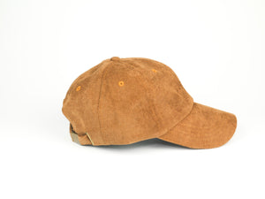 Thin Corduroy Dad Hat - Brown