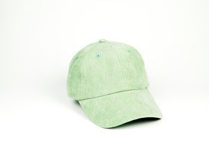 Thin Corduroy Dad Hat - Light Green