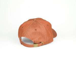 Thick Cotton Dad Hat - Rustic Orange