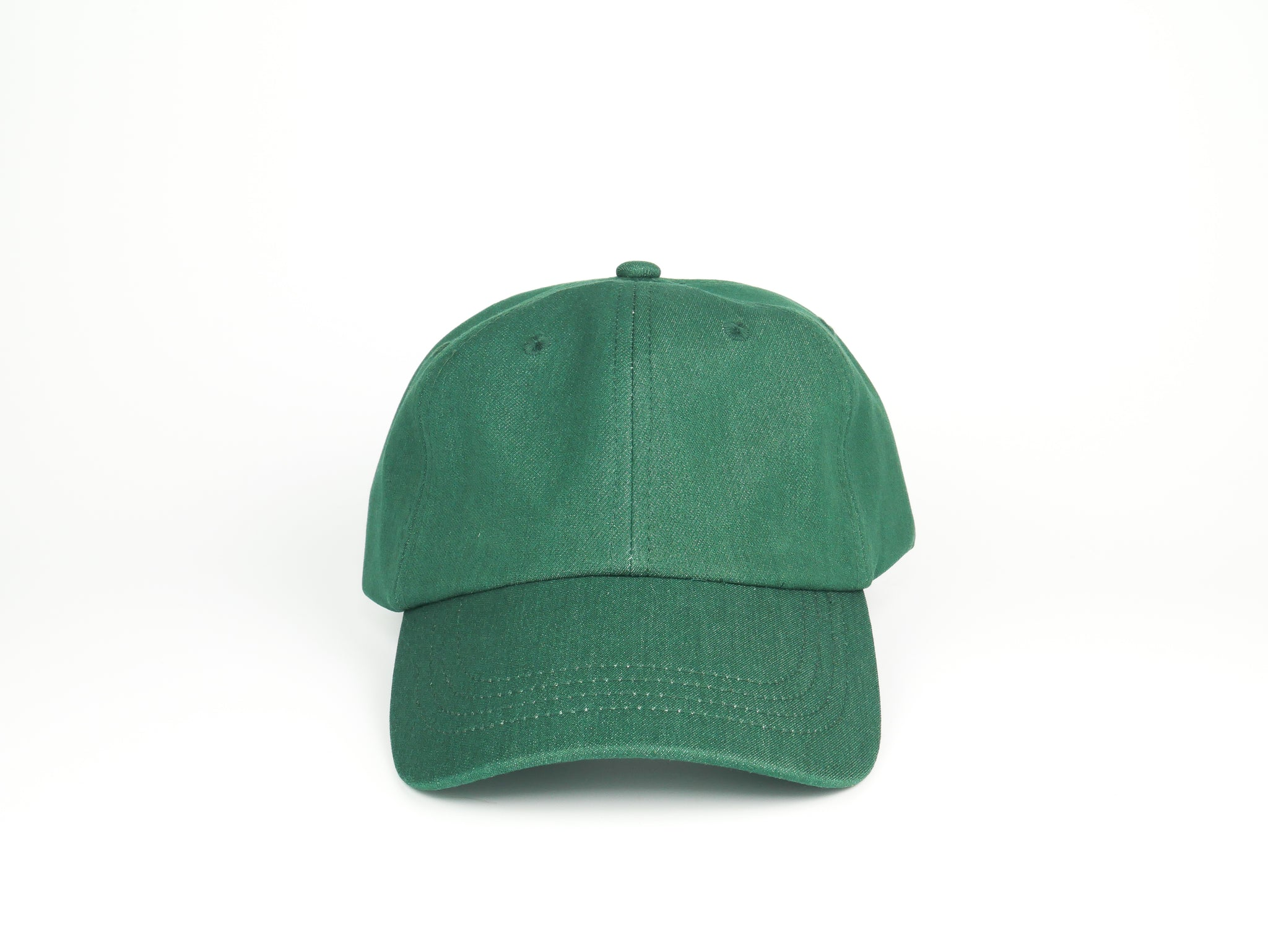 Thick Cotton Dad Hat - Green