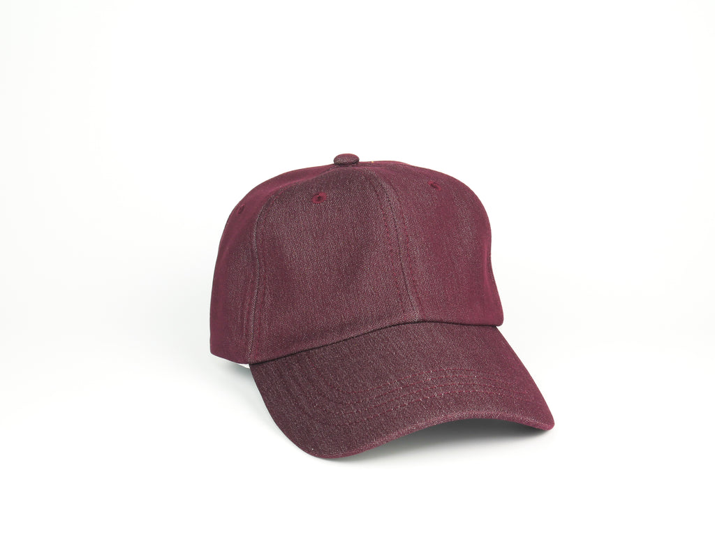 Thick Cotton Dad Hat - Maroon