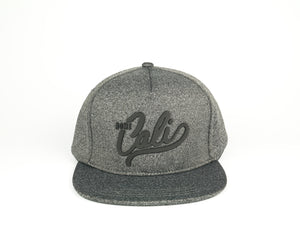 Cali 5 Panel - Charcoal Heather Grey