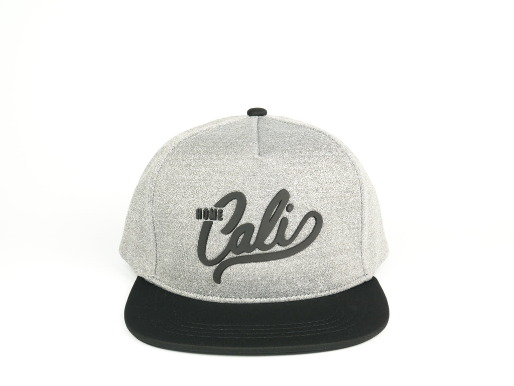Cali 5 Panel - Heather Grey / Black