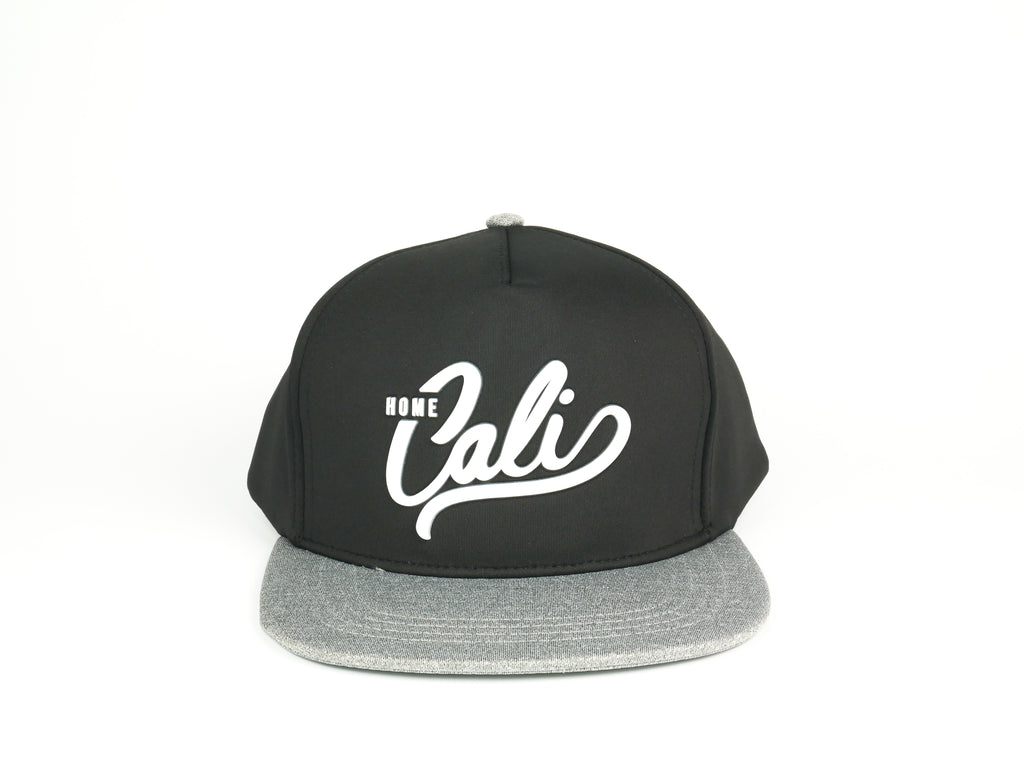 Cali 5 Panel - Black / Heather Grey