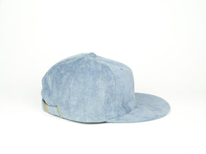 Thin Corduroy UFB (Unstructured Flat Brim) - Baby Blue