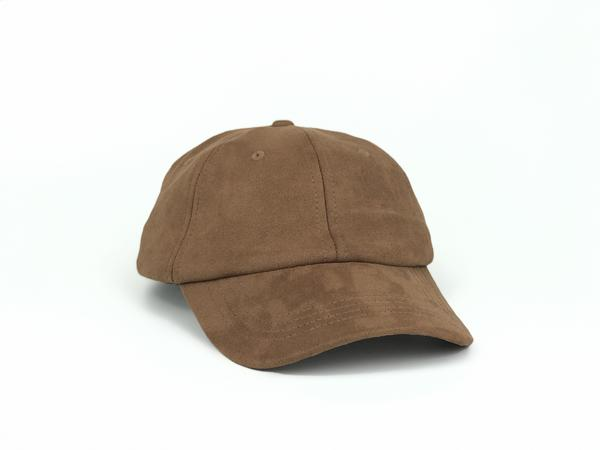 Suede Dad Hat - Brown