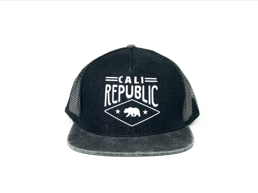 Black Cali Soft Mesh