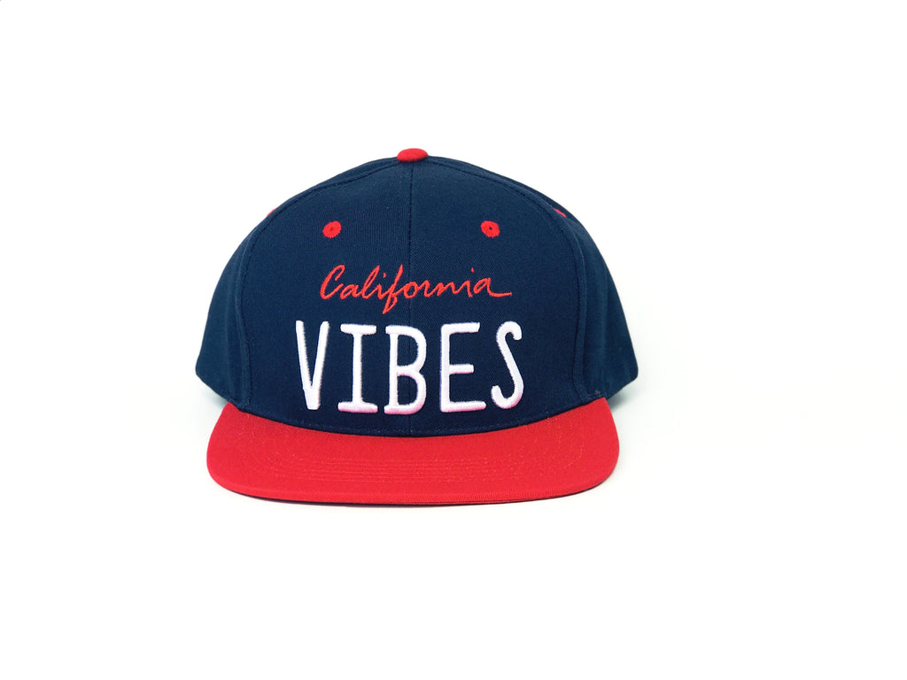 California VIBES - Navy + Red
