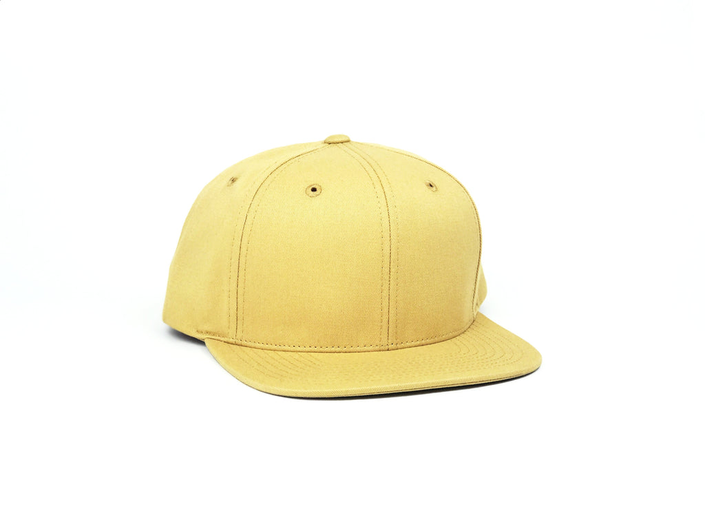 Cotton Snapback - Amber Yellow