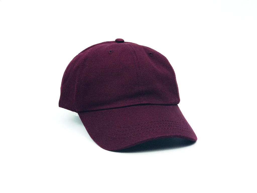 Pure Cotton Dat Hat - Maroon