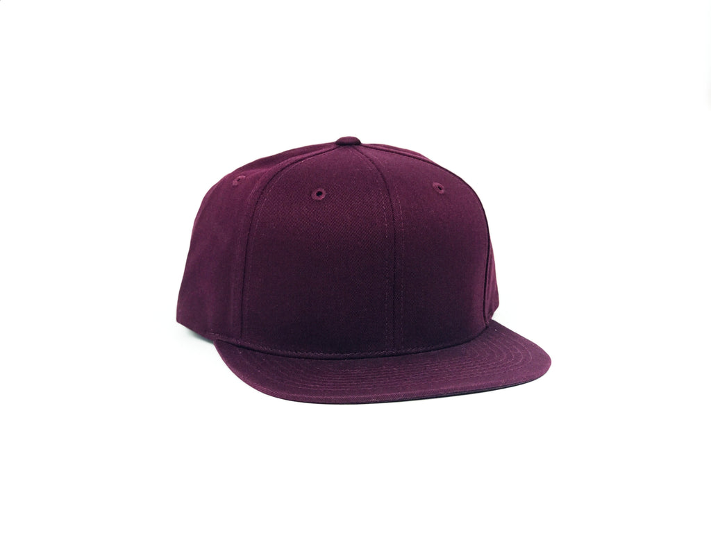 Cotton Snapback - Maroon