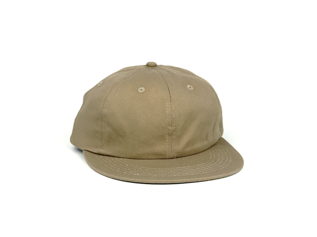 Cotton UFB (Unstructured Flat Brim) - Khaki