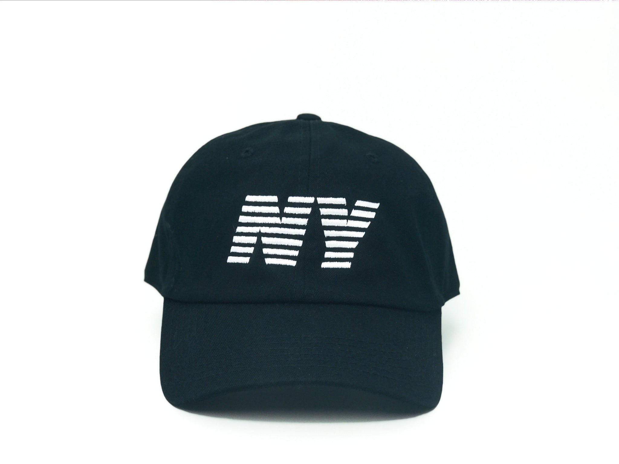Striped NY Dad Hat     (+ colors)