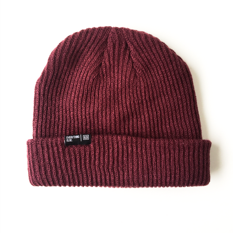 Everything Else - Burgundy Beanie