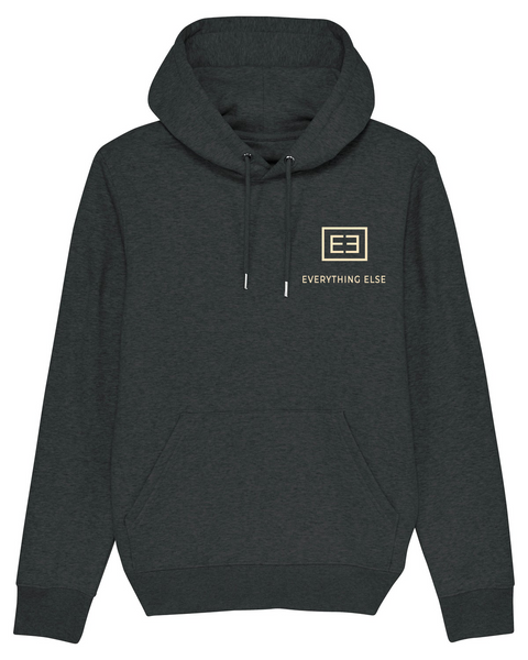 Everything Else Comfy Hoody ( dark heather grey )