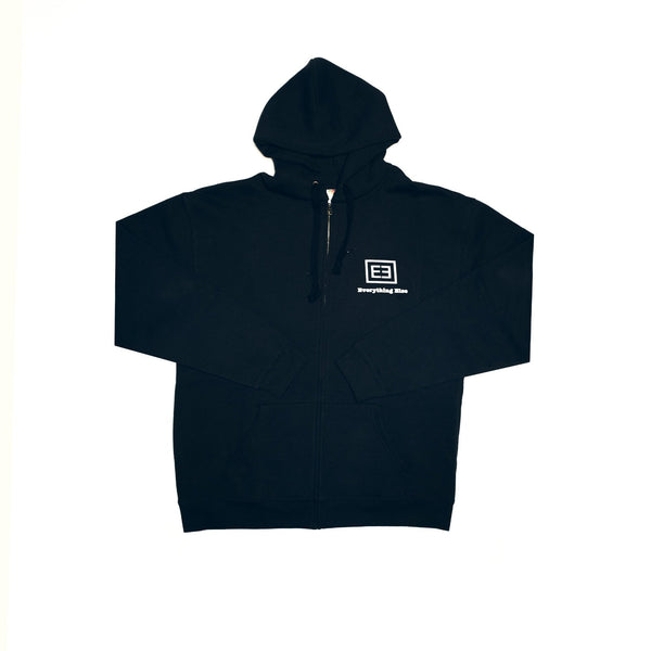 Zip Hoody ( Black ) - Everything Else