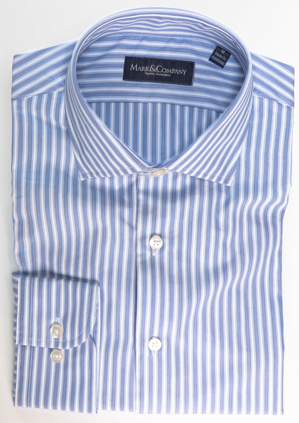 Light Blue Vertical Stripe Classic Shirt