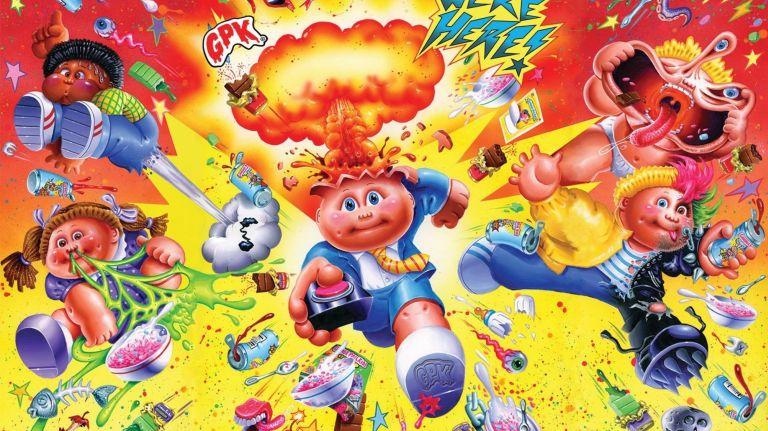 Chalk Line prepares to launch a Garbage Pail Kids 35th Anniversary Collection in 2020