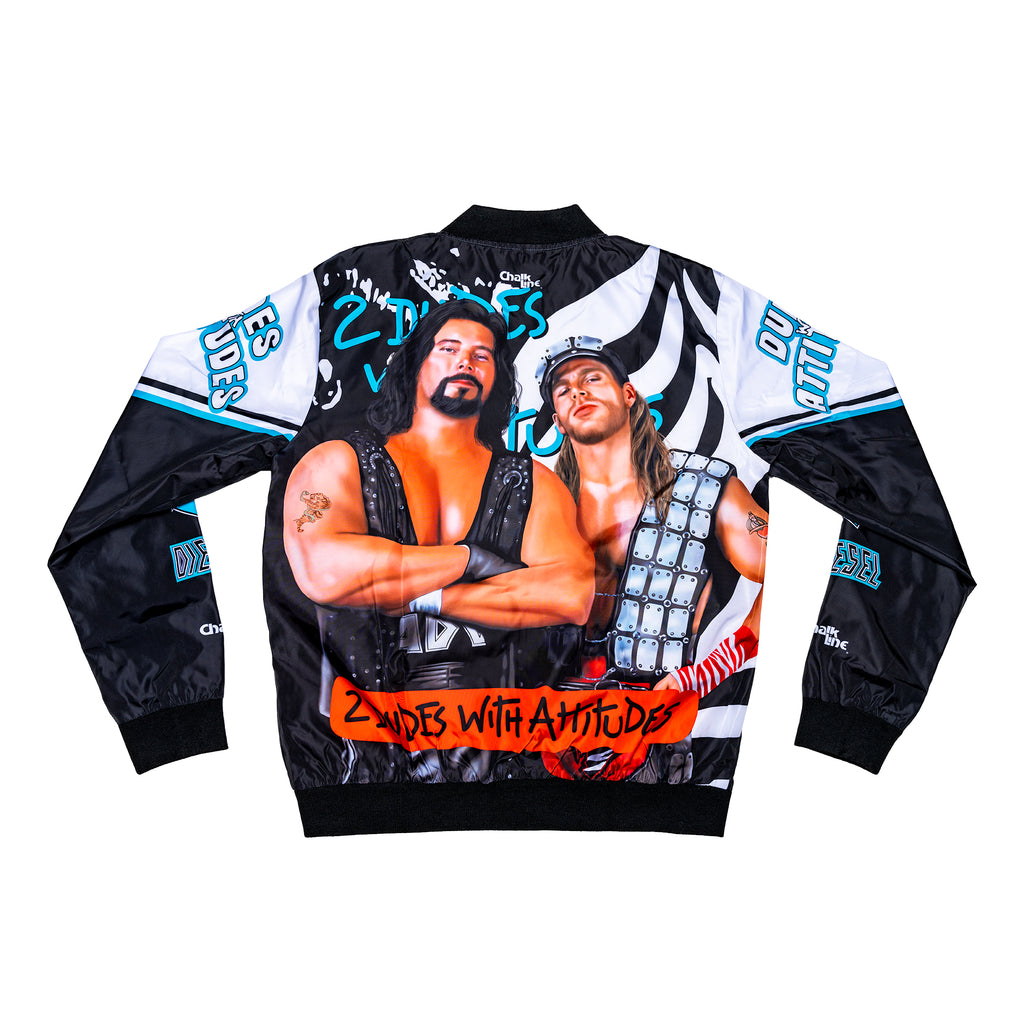 Two Dudes with Attitudes Retro Portrait Jacket