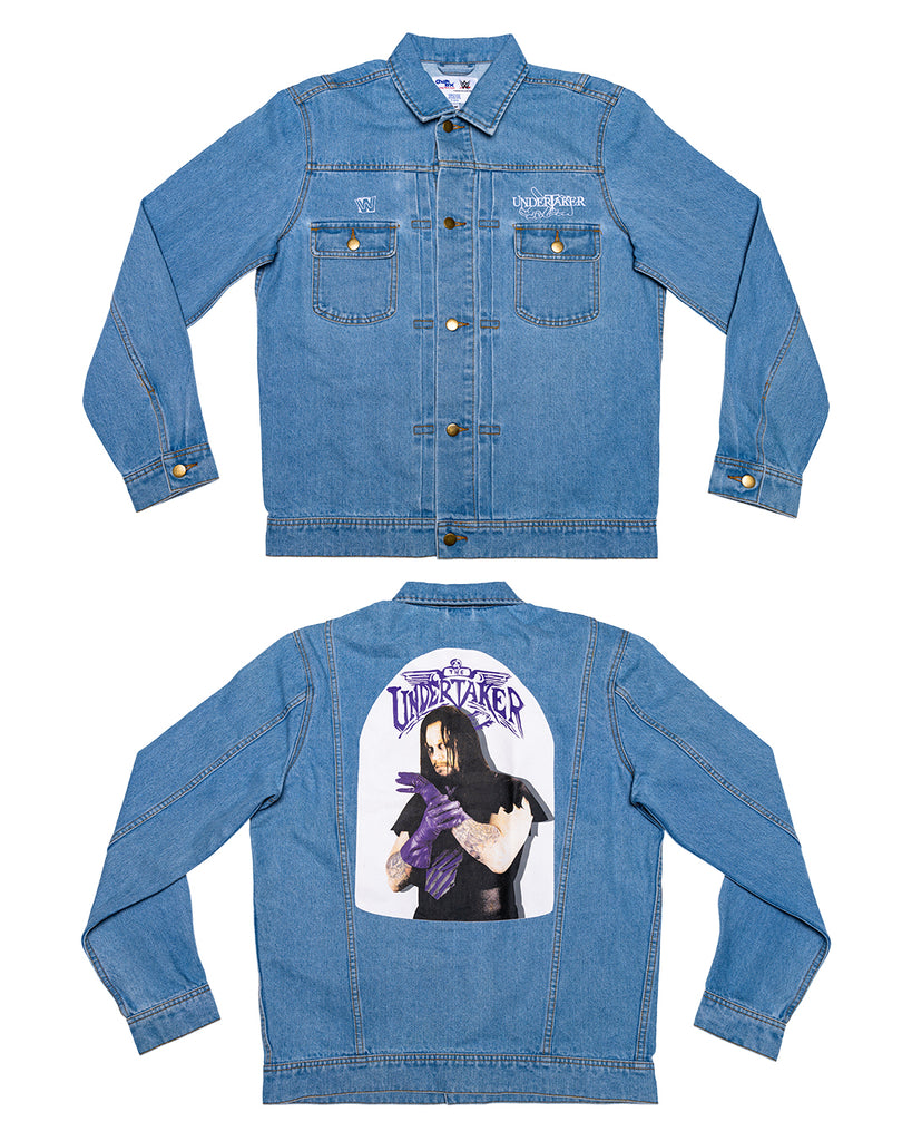 Undertaker Retro Denim Jacket