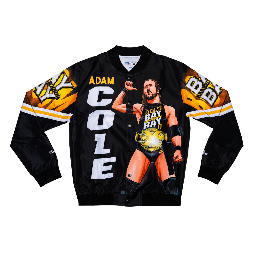 Adam Cole Illustrated Fanimation Jacket
