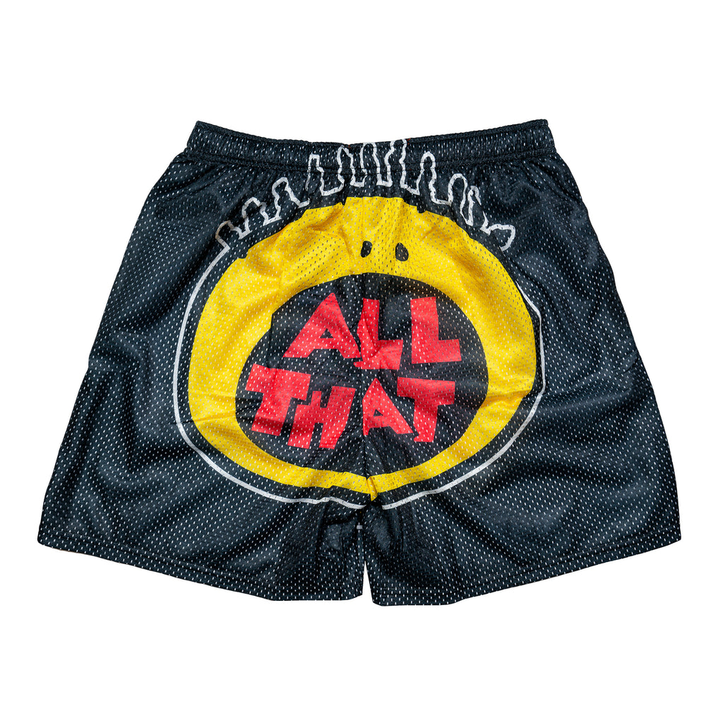 All That Retro Logo Nickelodeon Mesh Shorts