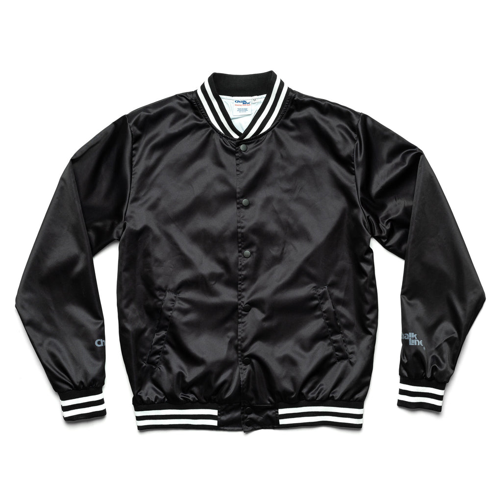 Arena Black Satin Jacket