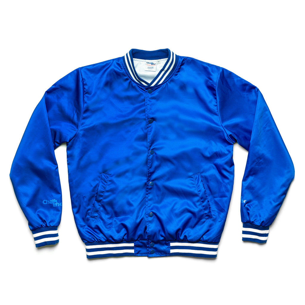 Arena Royal Blue Satin Jacket