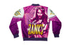 Sasha Banks Retro Fanimation WWE Jacket