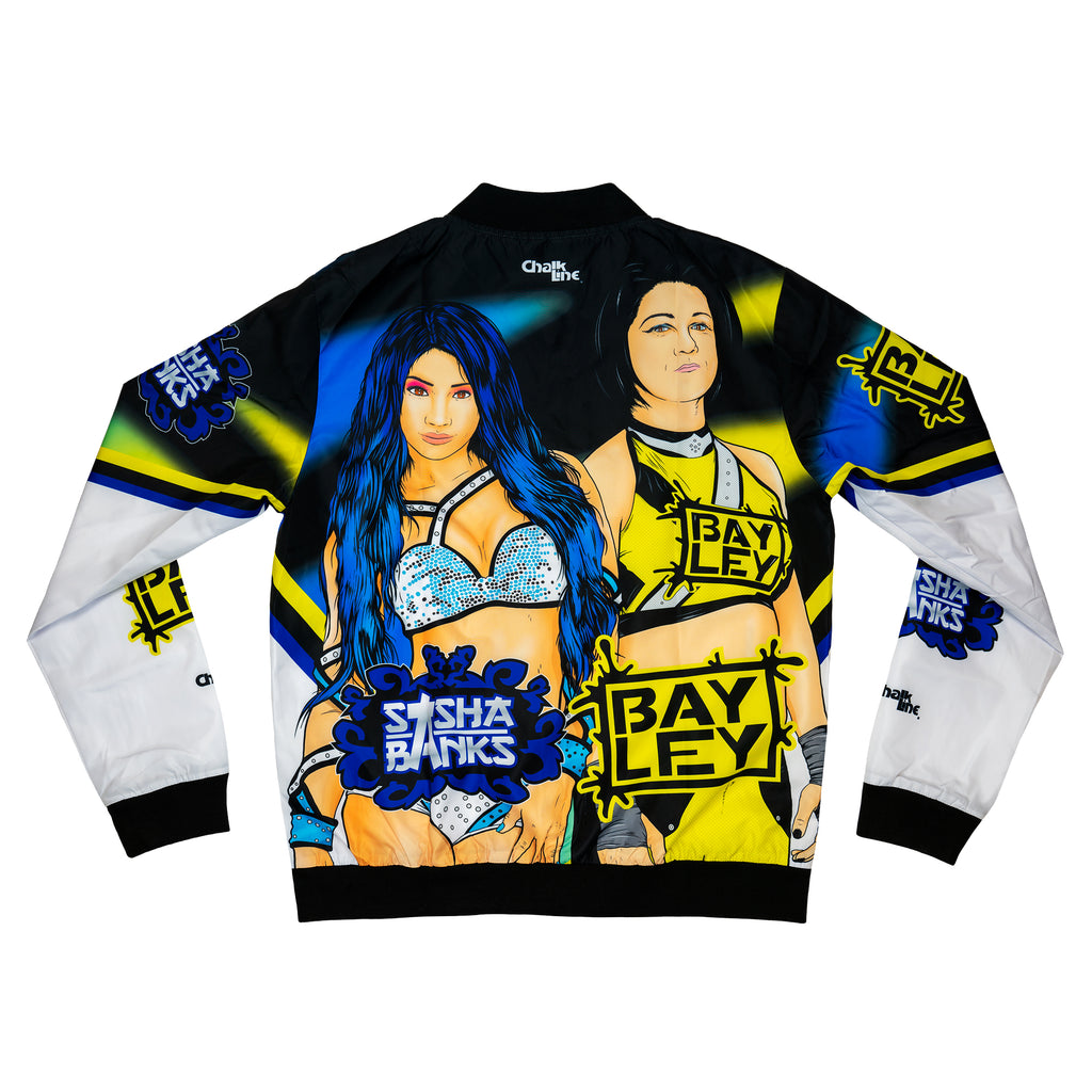 Sasha & Bayley Retro WWE Fanimation Jacket
