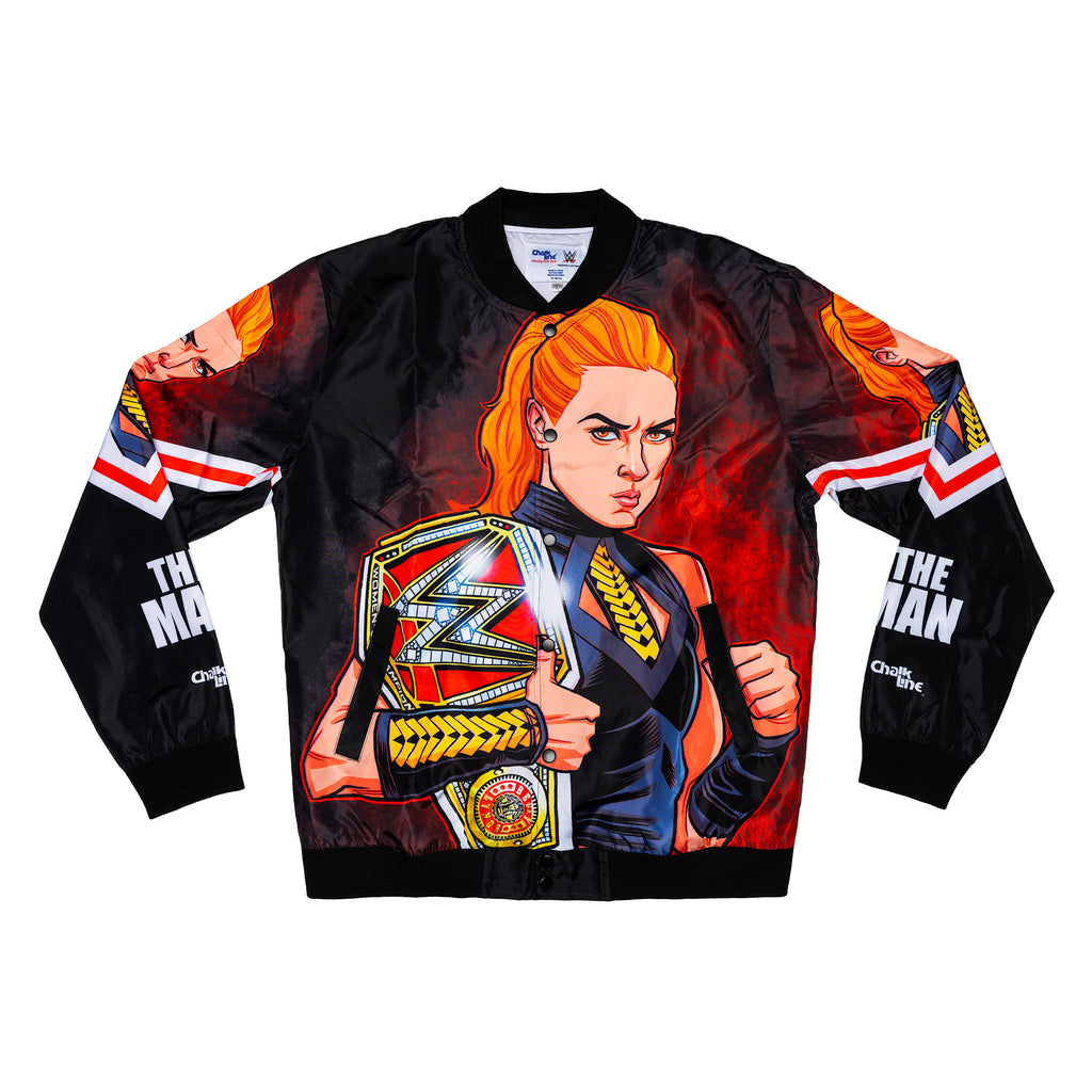 "Becky Lynch ""The Man"" Retro Fanimation Jacket"