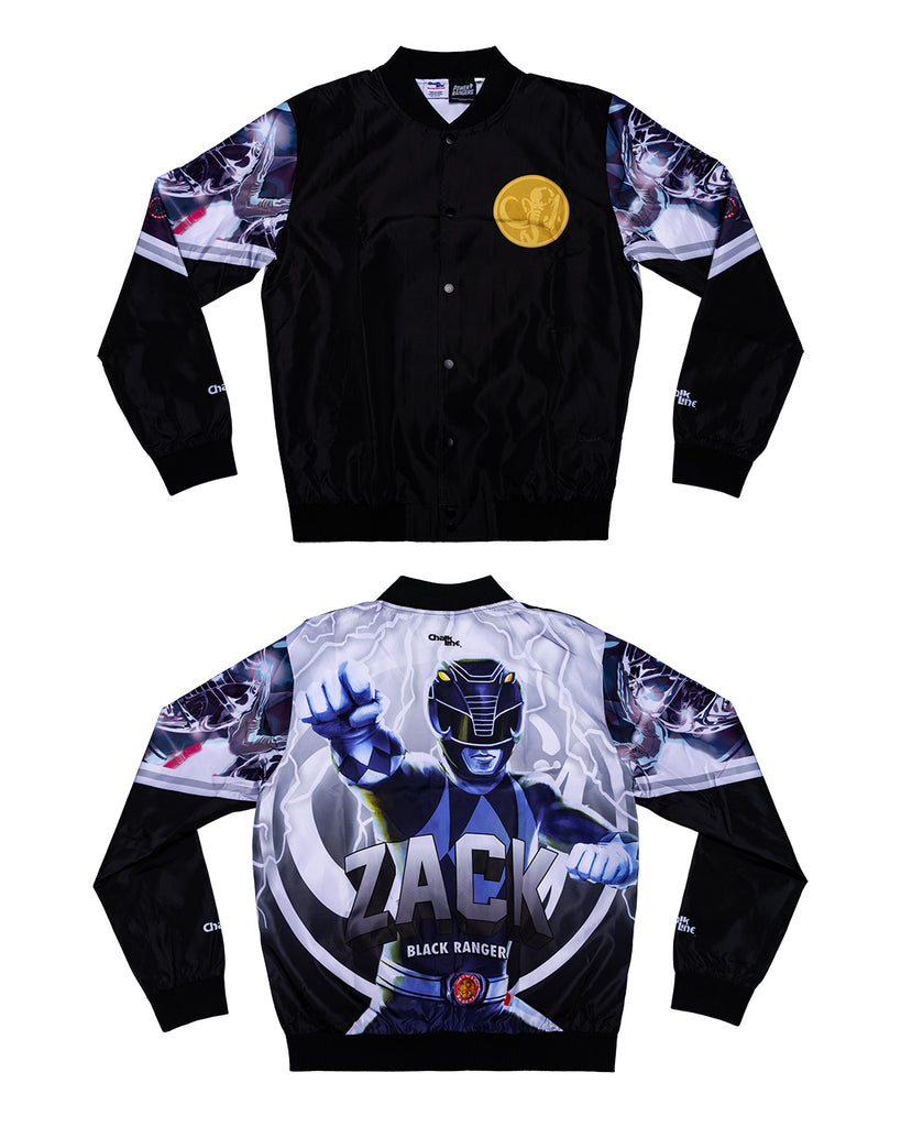 Black Ranger Retro Fanimation Jacket