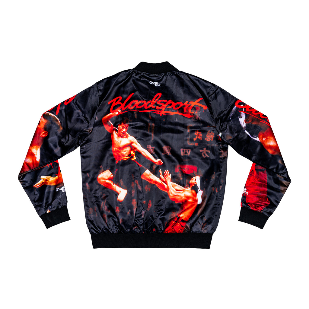 Bloodsport Retro Fanimation Jacket