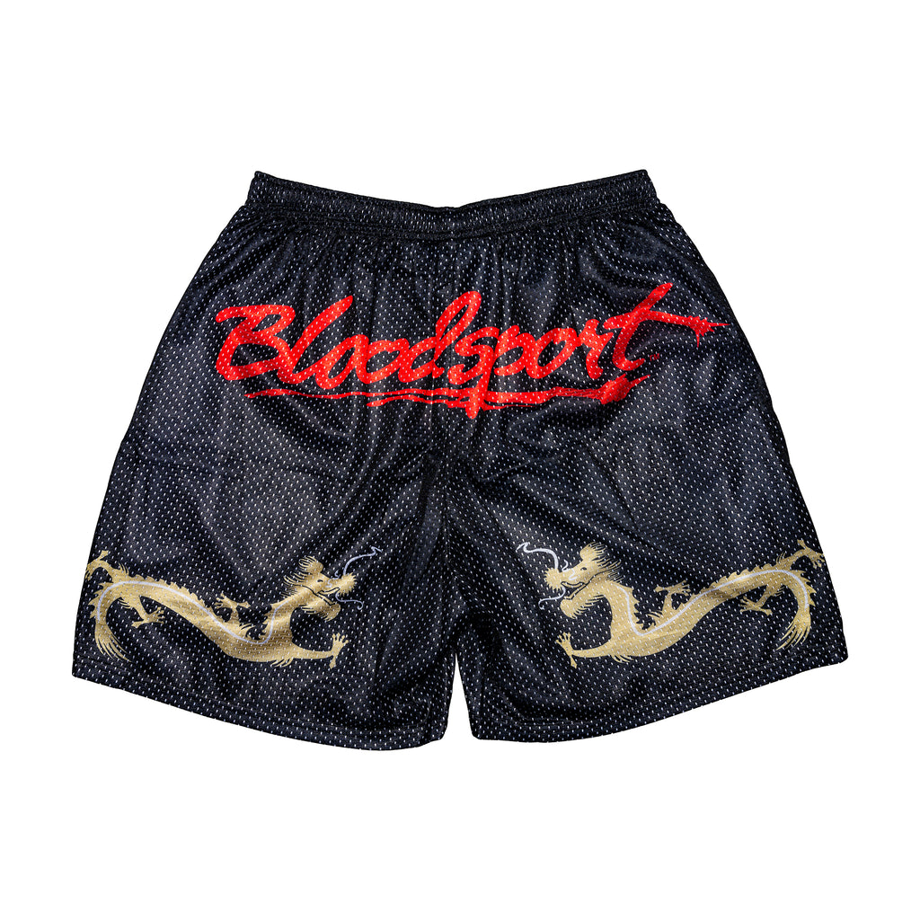 Bloodsport Kumite Retro Logo Shorts