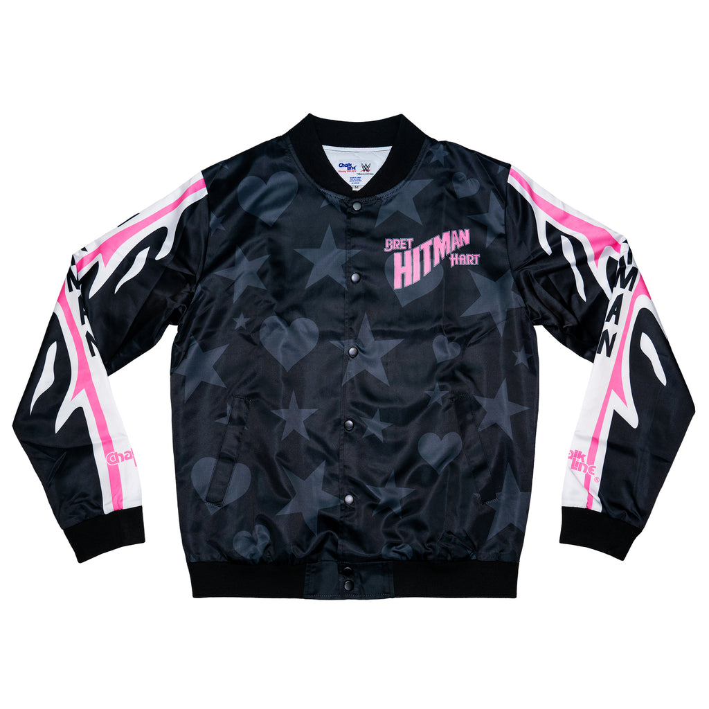 Bret Hart WWE Retro Portrait Jacket