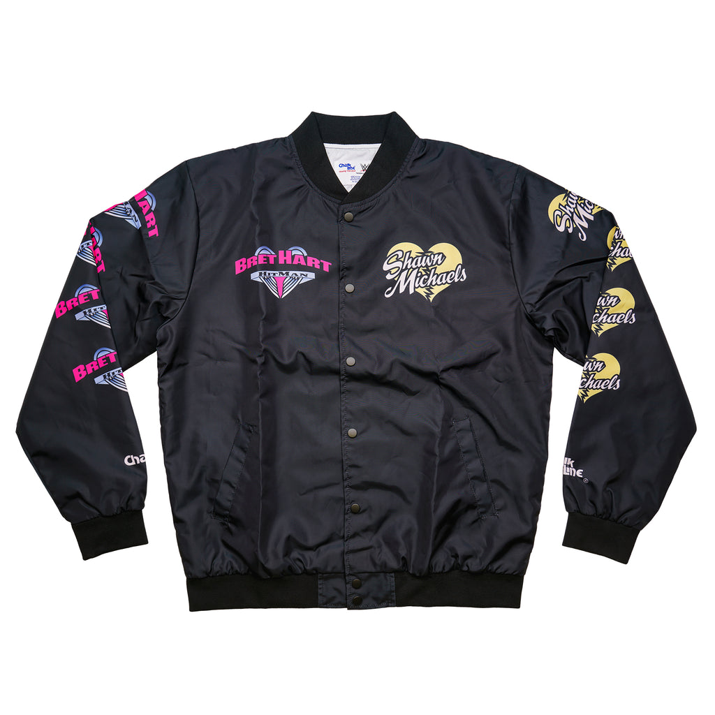 HBK vs Bret Hart Rivalry Jacket