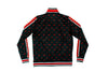 Wolfpac Black/Red Logo Track Jacket