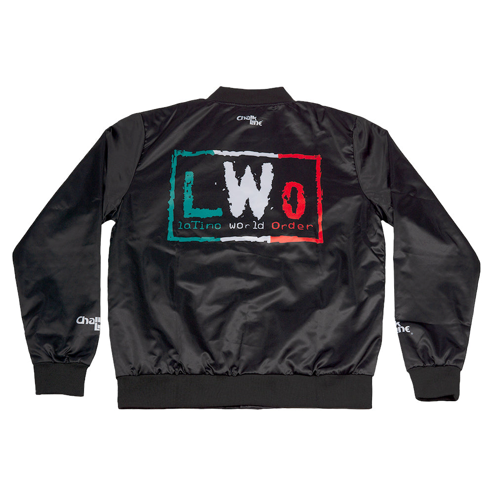 LWO Black Satin Entrance Jacket