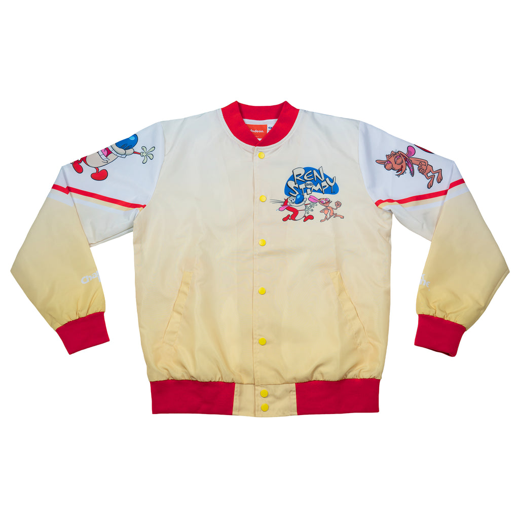 Ren & Stimpy Retro Nickelodeon Fanimation Jacket
