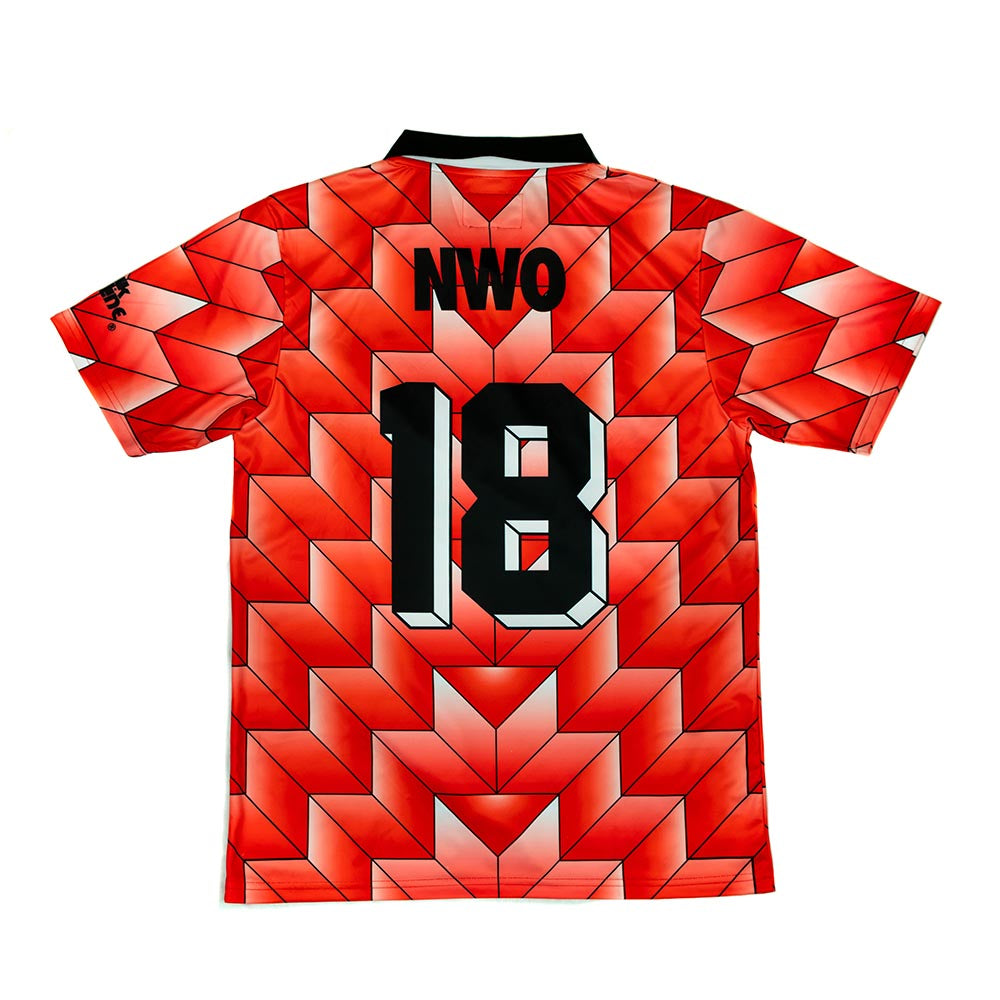 WWE Wolfpac Red Soccer Jersey