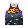 Razor Ramon WWE All Over Razor Logo Tank Top