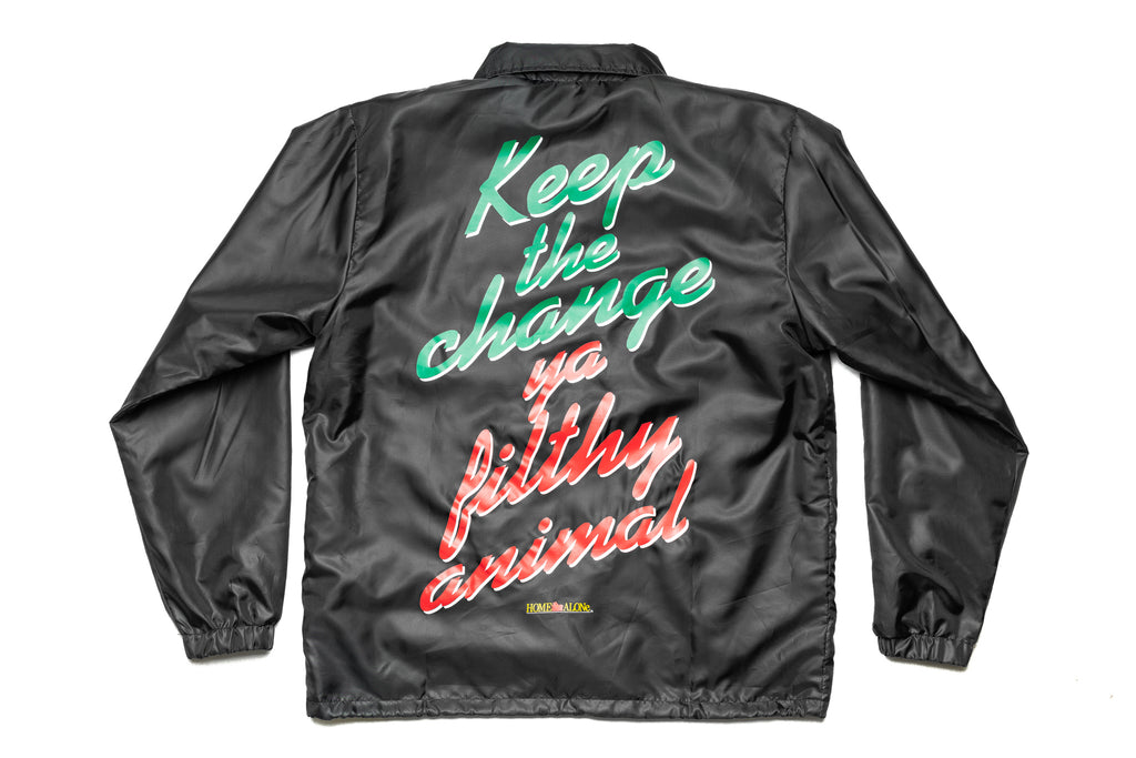 "Home Alone ""Keep The Change"" Coaches Jacket"